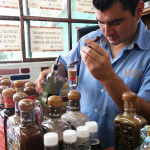 Bartender at La Alborada Distillery