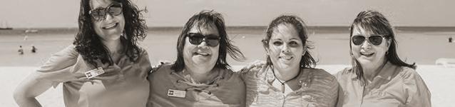 Dexter Howard Team on the Beach