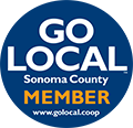 Sonoma County GoLocal logo