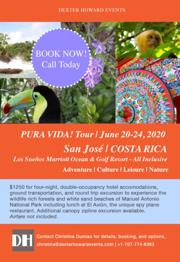 Costa Rica 2020 Tour Announcement